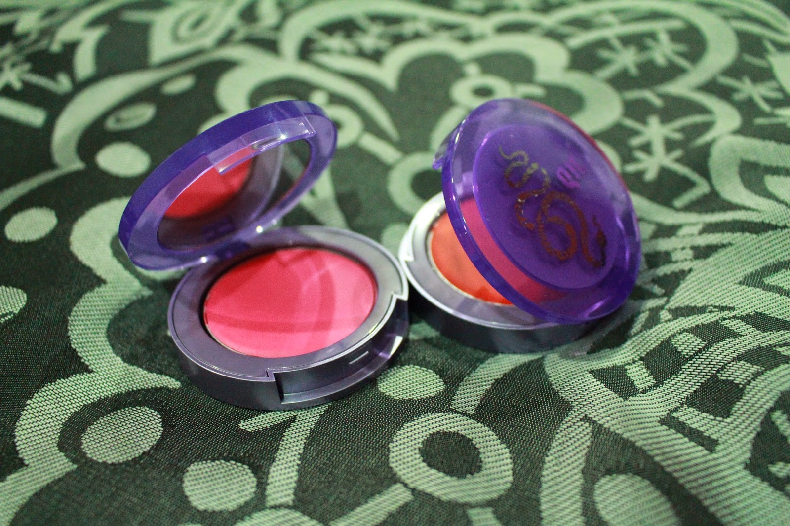 Urban Decay Afterglow Glide On Cheek Tint in Bang and Crush