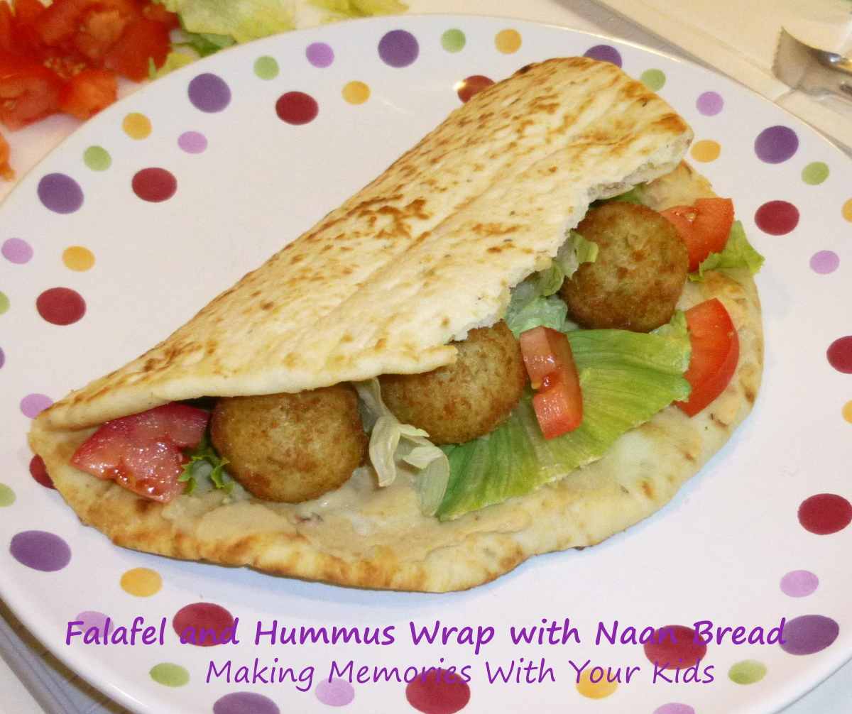 What to wrap in pita bread 100