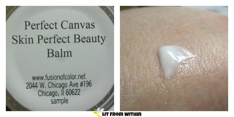Fusion of Color Perfect Canvas Skin Perfect Beauty Balm