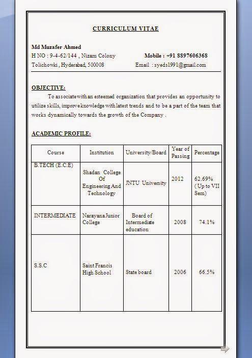 Ieee Resume Format] Ieee Resume Format Ieee Resume Format Ieee ...