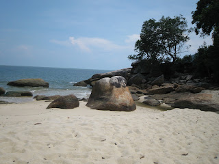 mukah head beach