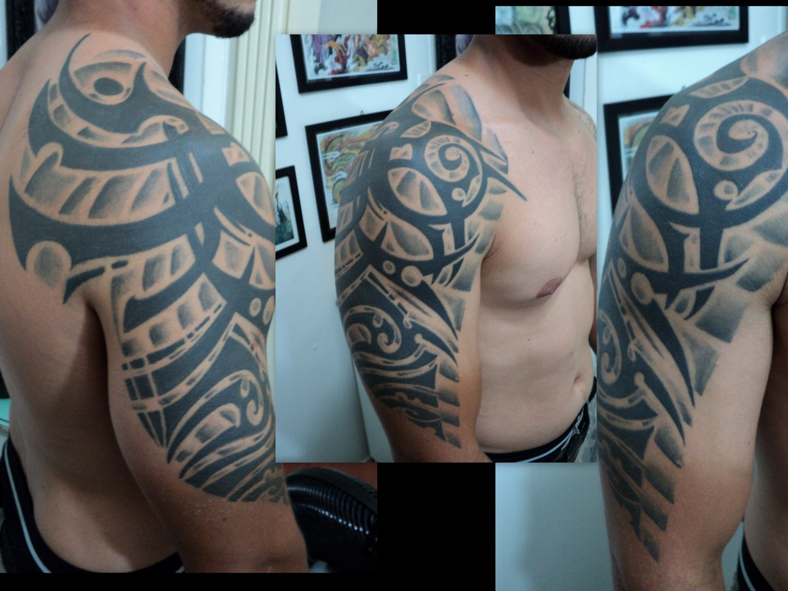 Tattoo tribal Evandro