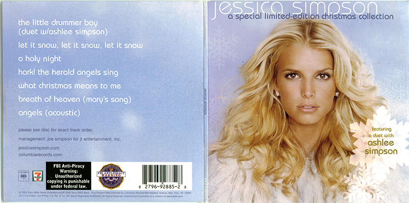 POP 'TIL YOU PUKE!: Jessica Simpson - A Special Limited-Edition ...