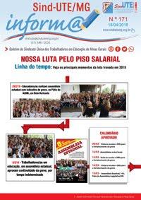 Boletim Inform@ nº 171 - Estadual