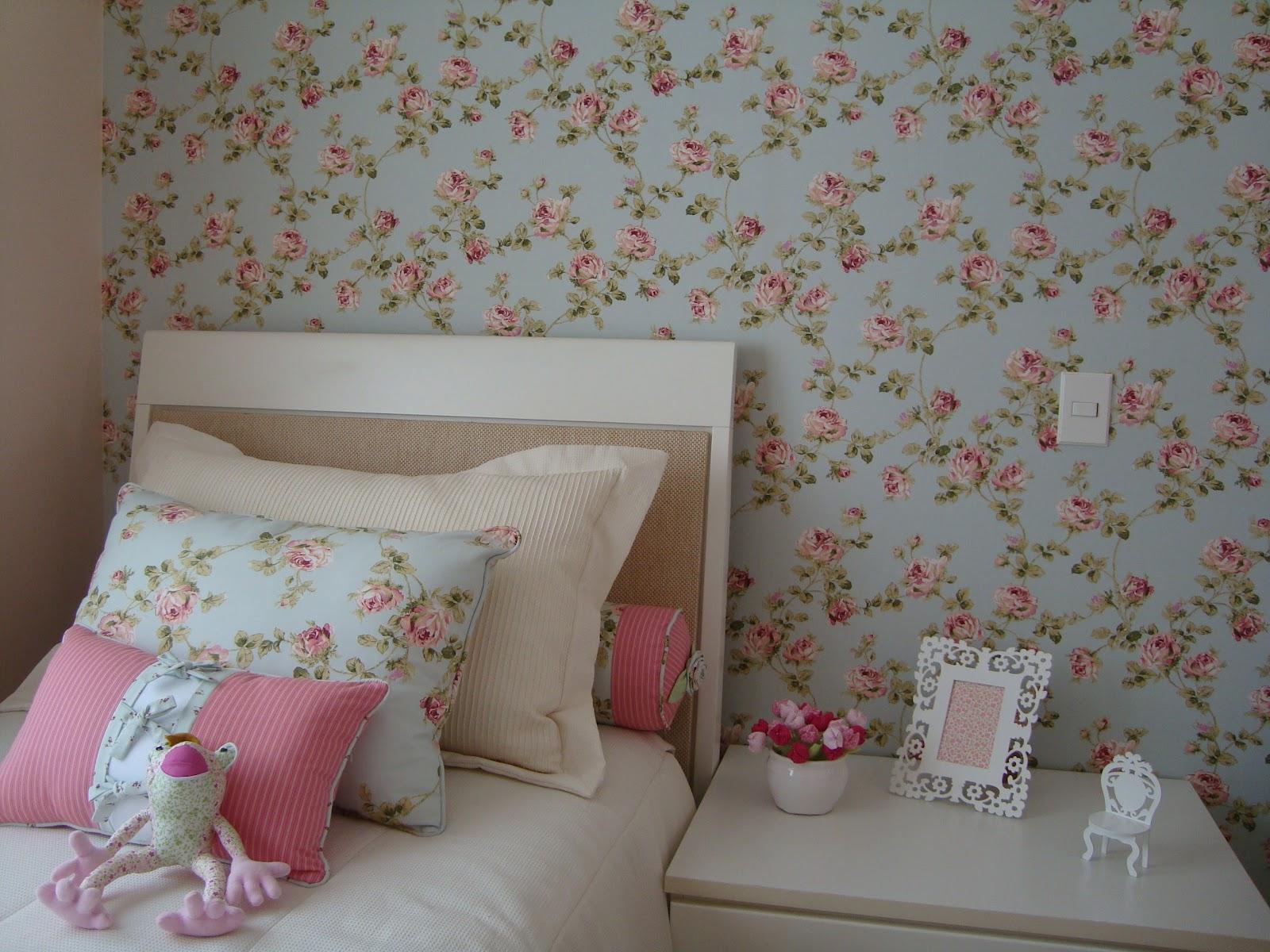 Sala Pequena Com Tecido Na Parede ~ Meninas do Pano Tecido aplicado na parede  Romântico e charmoso