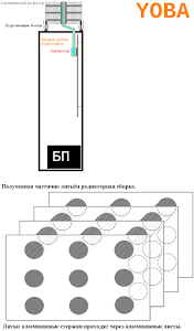Эскиз схемы изделия.