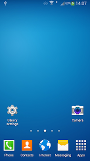 Galaxy Launcher - Tema Android Rasa Samsung TouchWiz