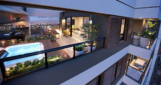cobertura duplex brooklin na planta casa viva