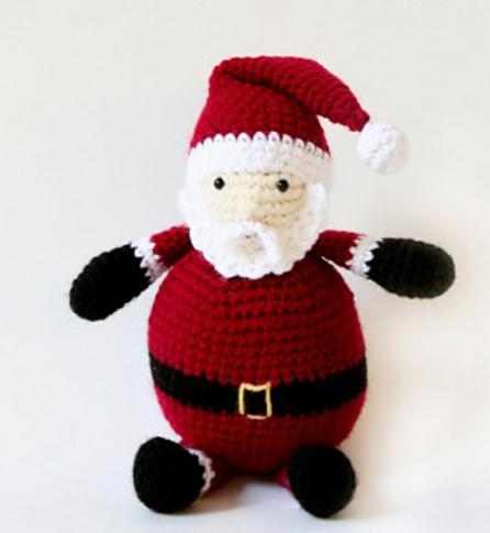 santa crochet toy patterns