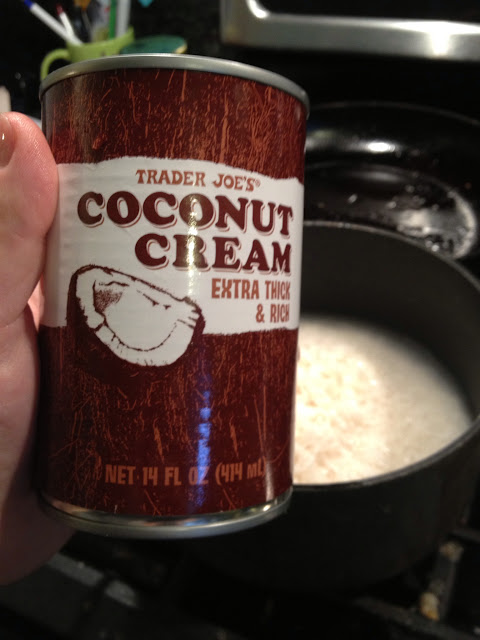trader joes coconut cream