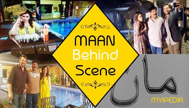 Meekal Zulfiqar & Maha Warsi in Maan BTS