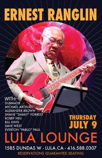 Ernest Ranglin @ Lula Lounge, Thursday