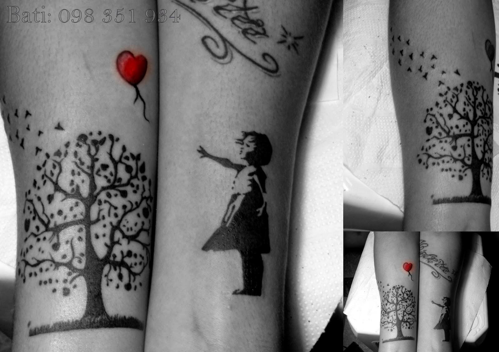 Henrys Batista : Tatuaje Banksy