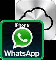 Guardar mensajes y Fotos de WhatsApp en iCloud.