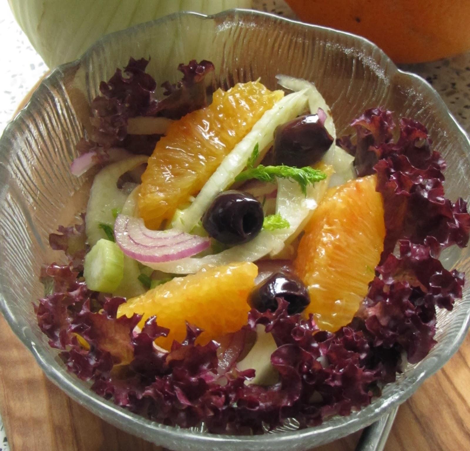 fliederbaum wintersalat mit fenchel und orangen. Black Bedroom Furniture Sets. Home Design Ideas