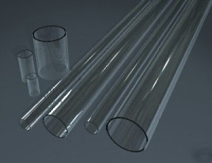 Tube/Pipa acrylik clear