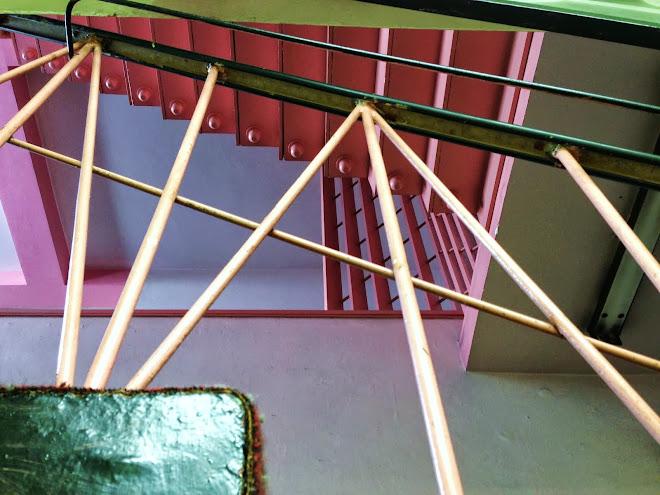 Liberty Cinema Wrought Iron Stairs