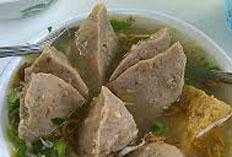 resep praktis (mudah) mengolah makanan khas solo bakso urat sapi spesial enak, gurih, lezat