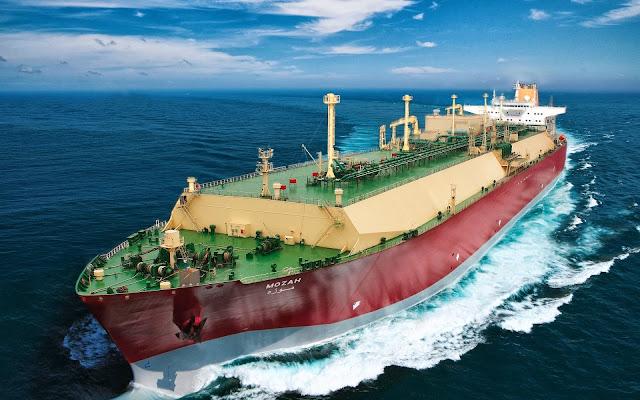 Cargo Ship Wallpaper