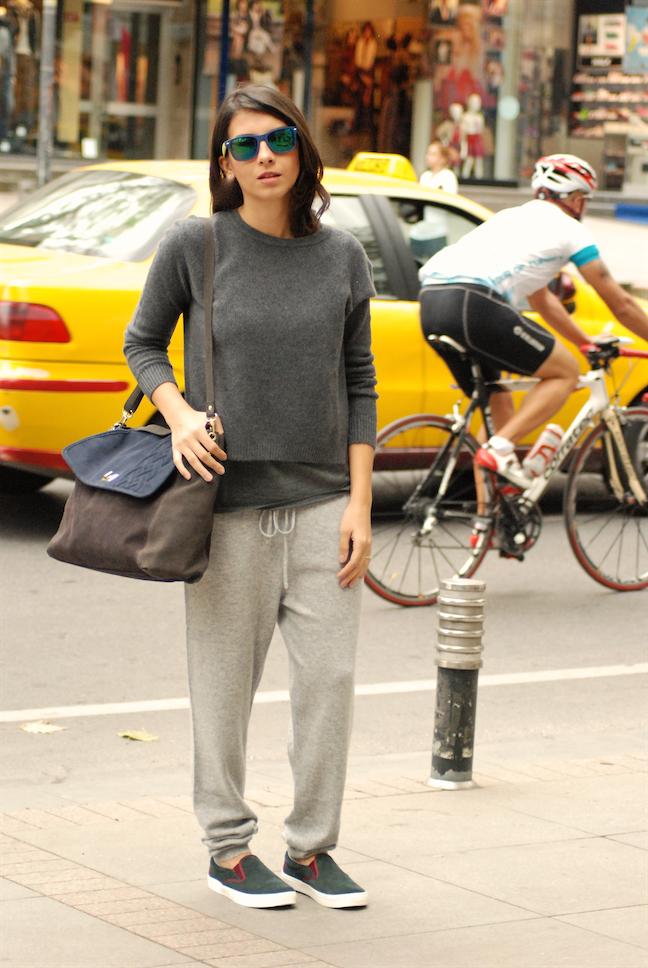 stefanel,streetstyle,blogger,slippers,comfort style,effortless,kasmir,casmere,sport chic