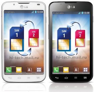 LG تصدر هاتف جديد مزدوج الشريحه  LG Optimus L7 II والمصاحب له نظام اندرويد  Jelly Bean