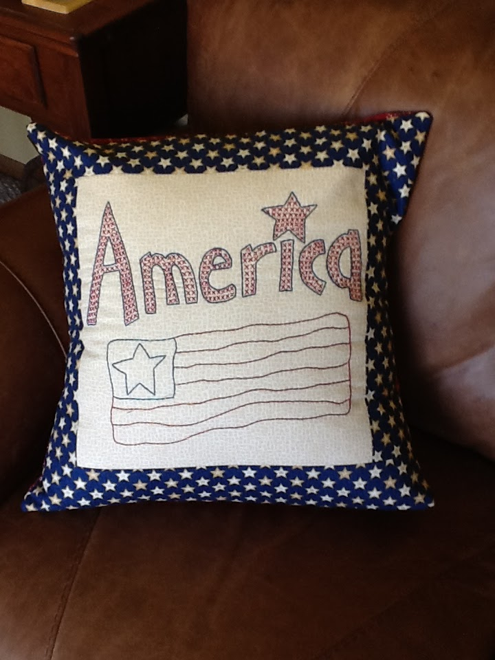 Tanya Quilts In Co Secret Sewing Americana Amp Nautical Pillows