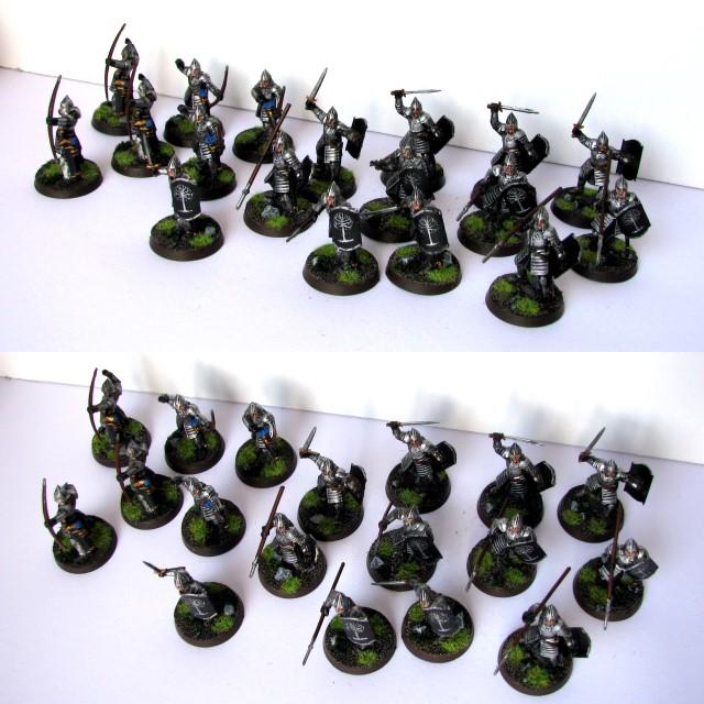 Figurki Władca Pierścieni: Wojownicy Minas Tirith