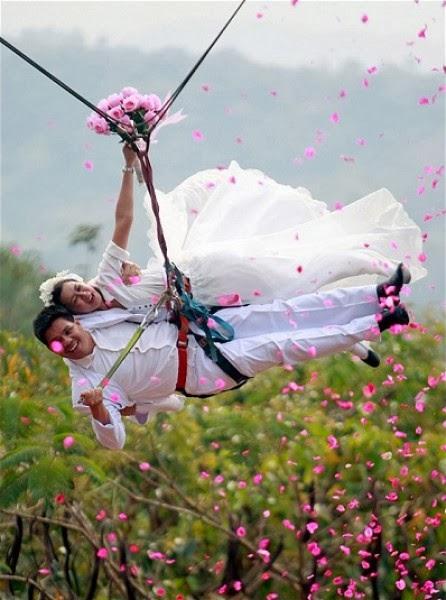 بالصور أجدد صيحات التصوير في صور الزفاف صور مبتكره ورائعه جدا 5 10/3/2014 - 2:31 ص