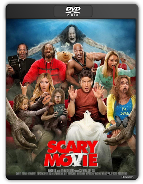 scary movie 5 2013 dvd portada