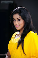 Poorna-in-Yellow-Saree