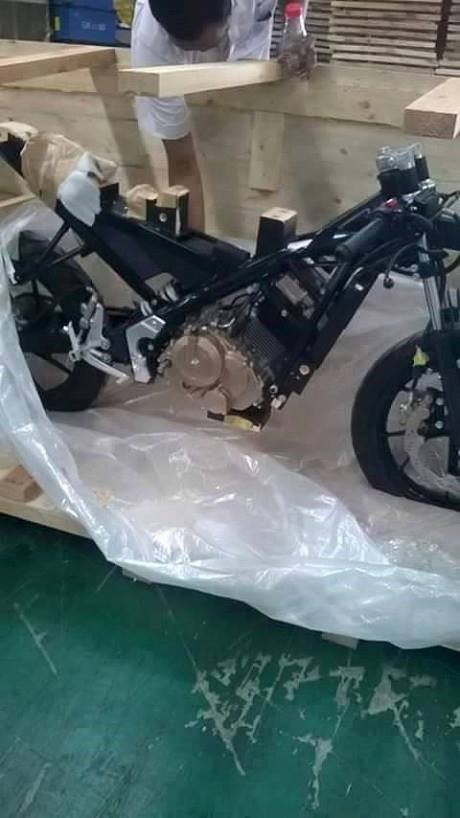 Suzuki Indonesia diduga sedang membuat motor sport baru . . untuk melawan Honda Sonic reborn ?