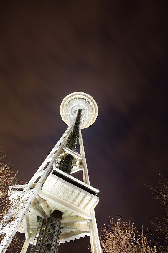 Space Needle, Seattle, WA -- by Harpreet Grewal