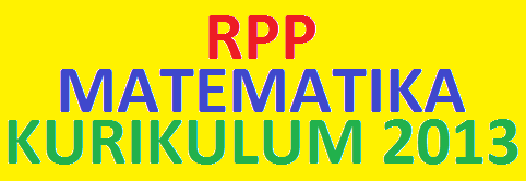 Download RPP Matematika SMA Kurikulum 2013 tahun 2014