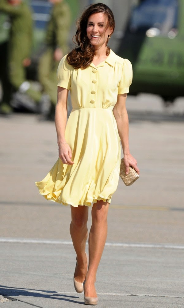 Spotted- Celebs rocking the pastel trend in their Street Style looks, Duchess Kate,Chamber of Beauty