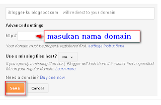 Setting-domain name2