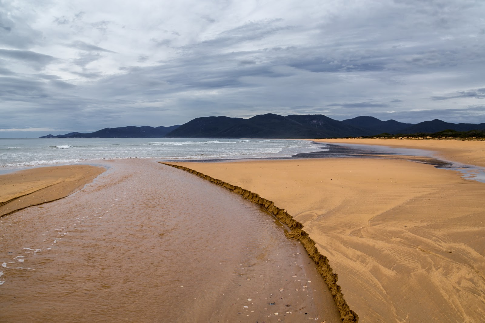 miranda creek on five mile beach wilsons promontory