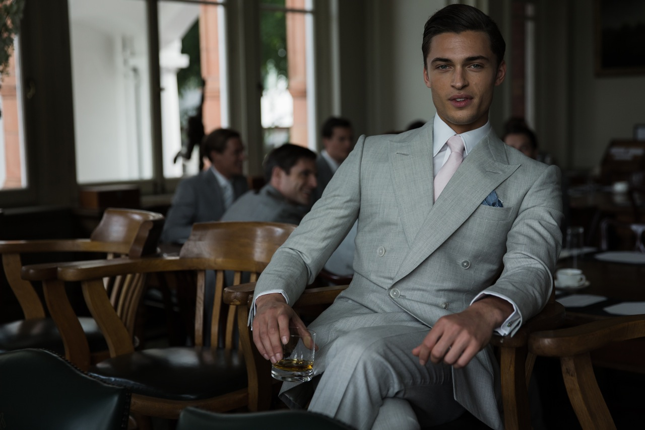 Savile Row Bespoke at London Collections: Men