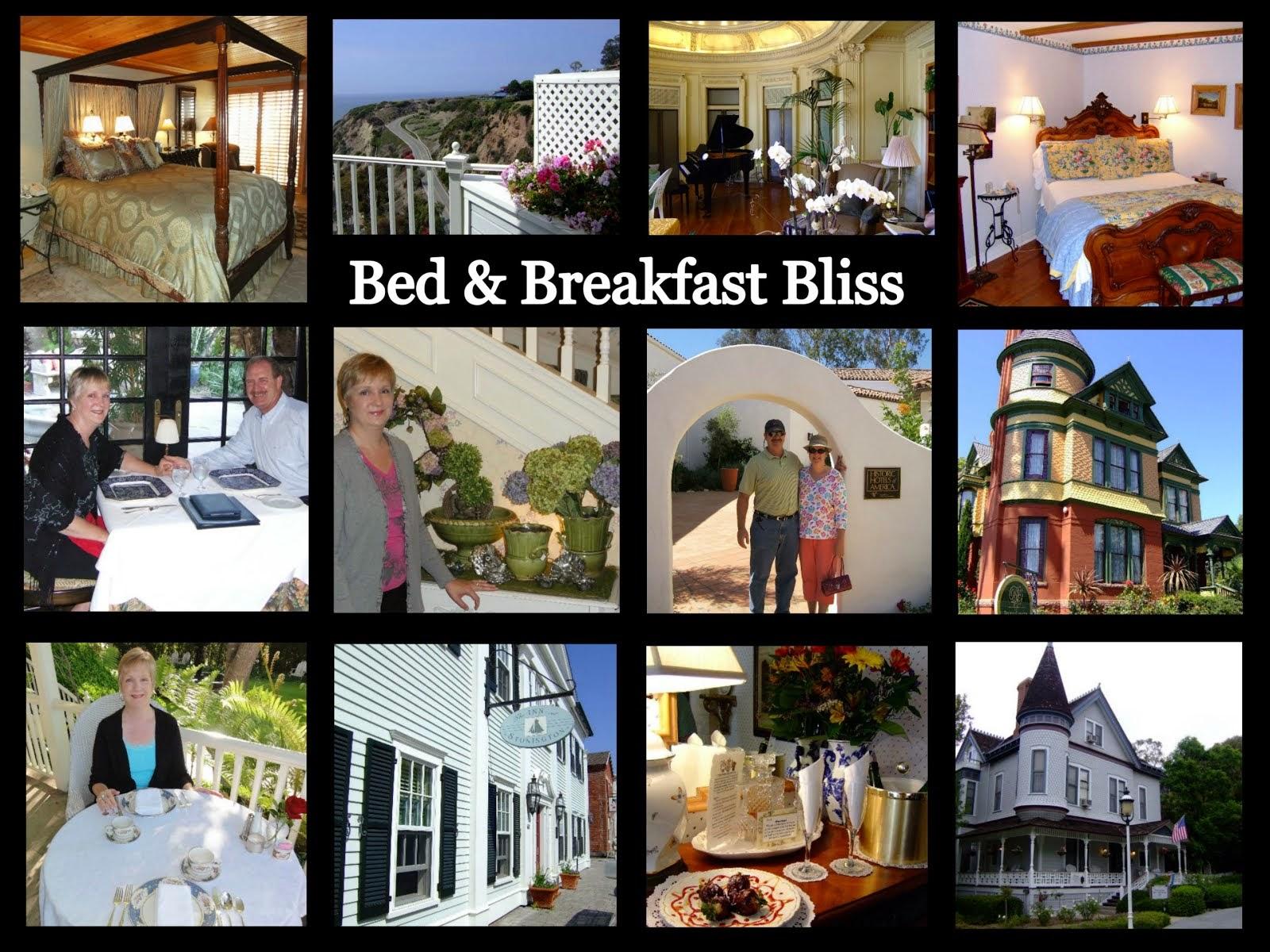 Bed & Breakfast Inn Bliss List