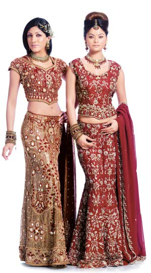 Bridal Wedding Clothes Mostly Indian Subcontinent Brides Wear Saree Sari Or Lehenga Choli On Their Special Day Fashion Designers Also Come Up With