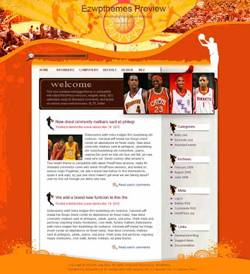 Beat It blogger template. template blog from wordpress