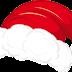 Vector gorro Papa Noel - SantaClaus