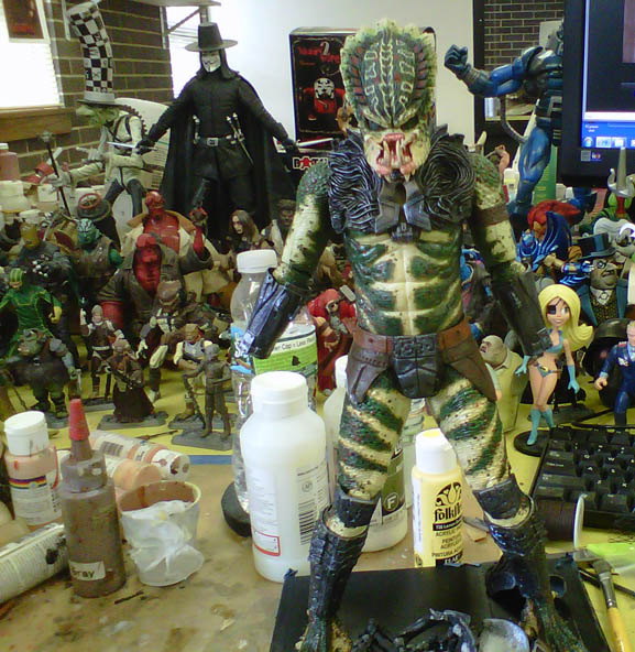 Predator Classic Exclusivo Sdcc Con Mascara Lost