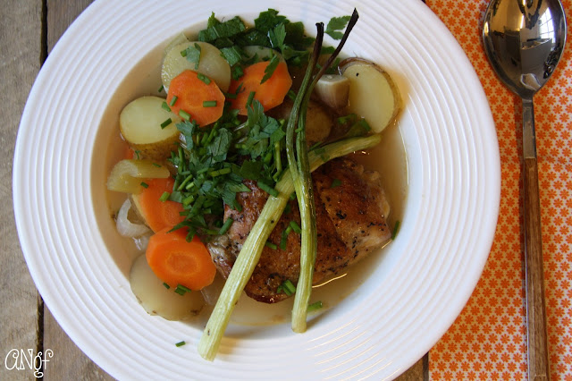 Light and delicious Gluten Free Spring Chicken Soup from anyonita-nibbles.co.uk