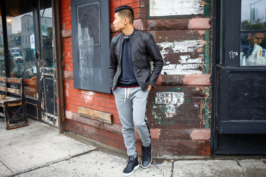 Stylish Sweats, Levitate Style, Winter, Todd Snyder NY, Ace Rivington, Ecco, Timex, menswear