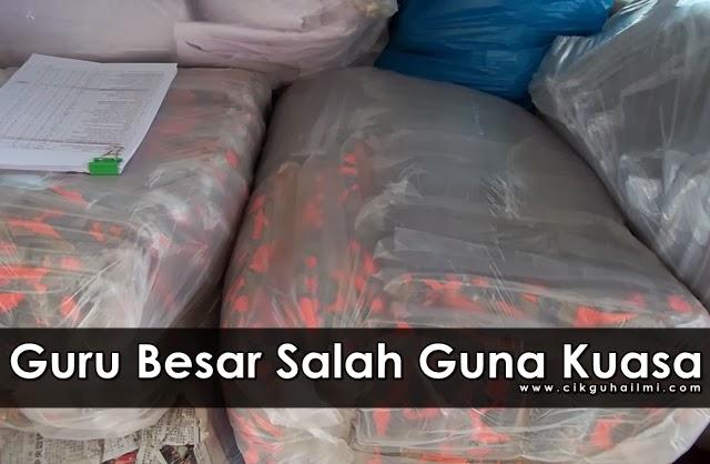 Penjara dan Denda RM148 000 : Guru Besar Salah Guna Kuasa