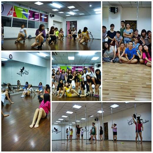 Trung tâm dạy múa cột nghệ thuật Vdance studio