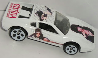 Custom Elvira Hot Wheels Ferrari 308