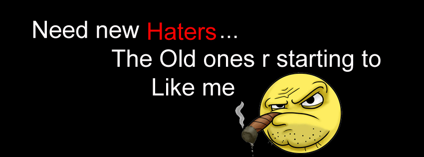 Need New Haters.