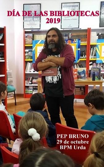 PEP BRUNO CUENTA CUENTOS A EDUCACIÓN INFANTIL Y PRIMARIA, 29/10/2019