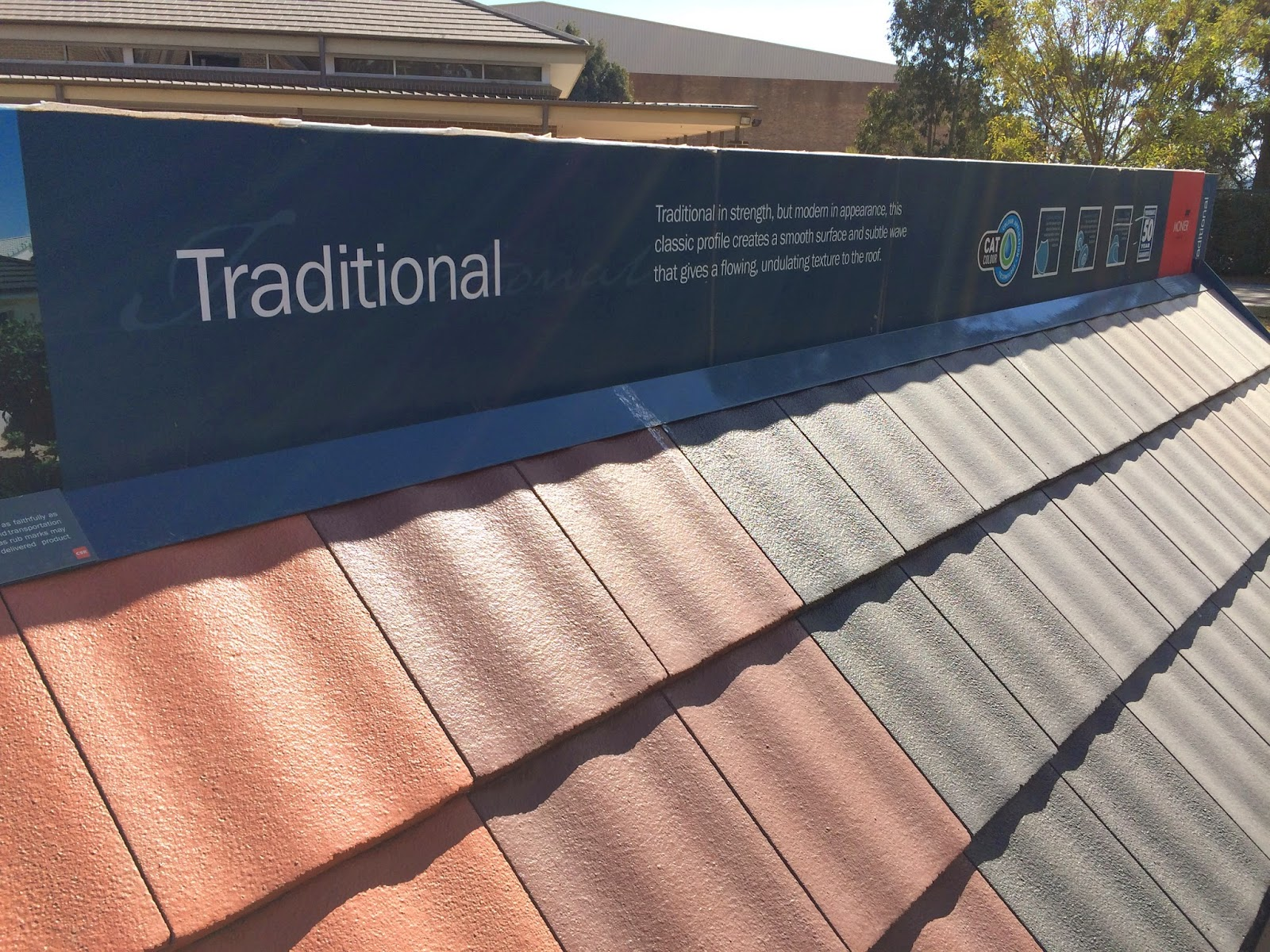 Monier Traditional Roof Tile (all Colours)